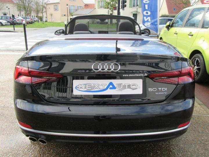 Audi A5 CABRIOLET 50 TDI 286CH S LINE QUATTRO TIPTRONIC 8 Noir Occasion - 7