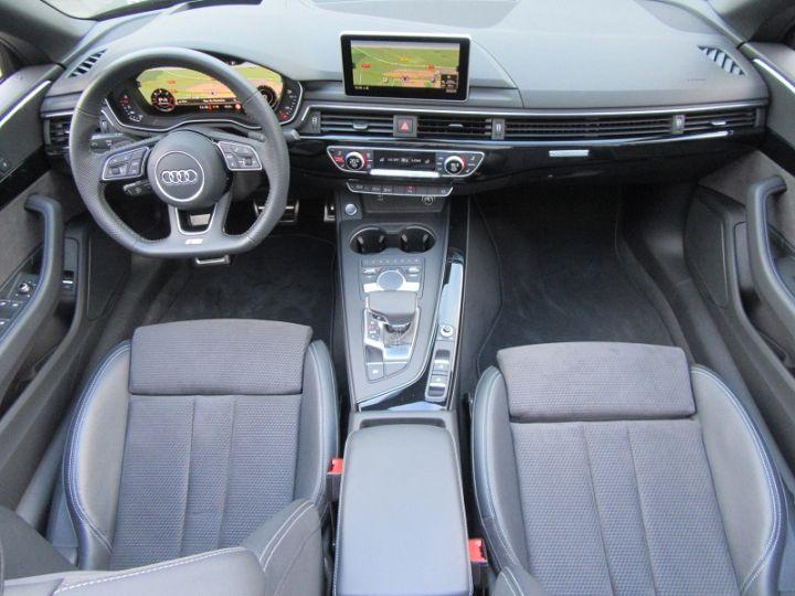 Audi A5 CABRIOLET 50 TDI 286CH S LINE QUATTRO TIPTRONIC 8 Noir Occasion - 8