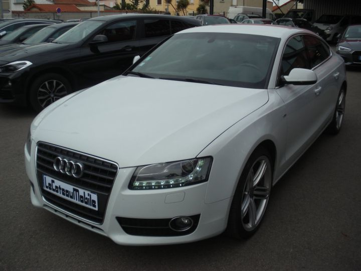 Audi A5 CAHA blanc - 1