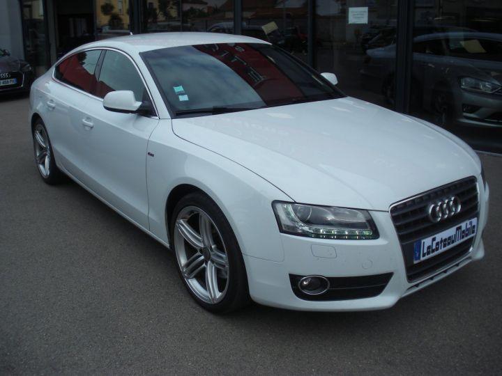 Audi A5 CAHA blanc - 2