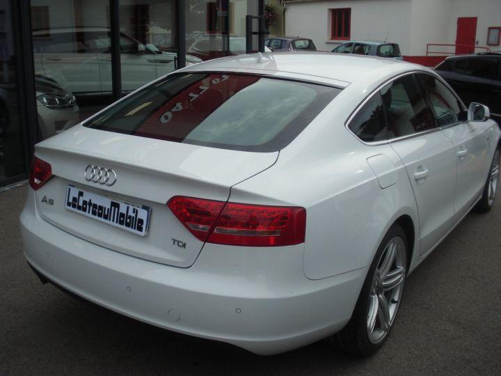 Audi A5 CAHA blanc - 5