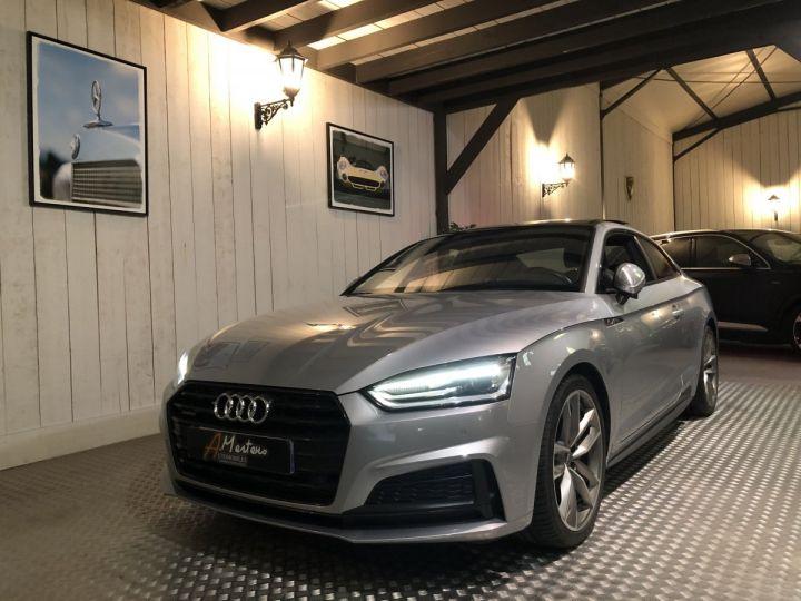 Audi A5 COUPE 3.0 TDI 218 CV SLINE QUATTRO BVA Gris - 2