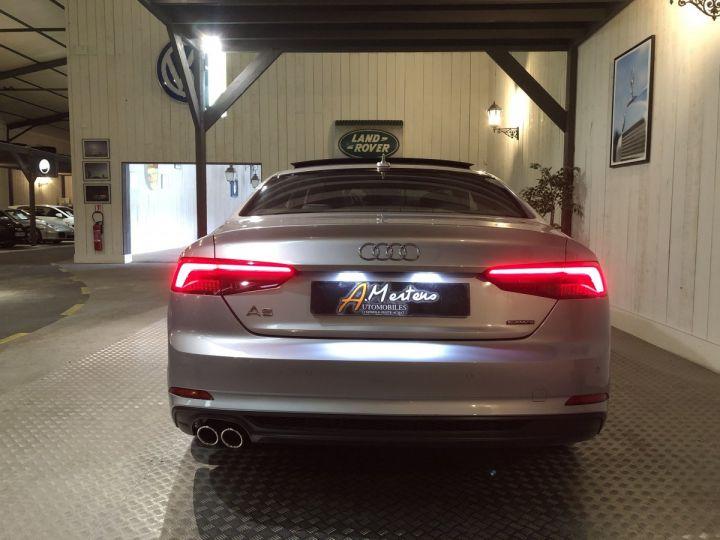 Audi A5 COUPE 3.0 TDI 218 CV SLINE QUATTRO BVA Gris - 4