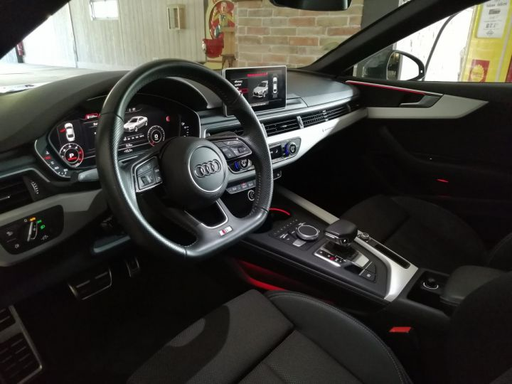Audi A5 COUPE 3.0 TDI 272 CV SLINE QUATTRO BVA Gris - 5