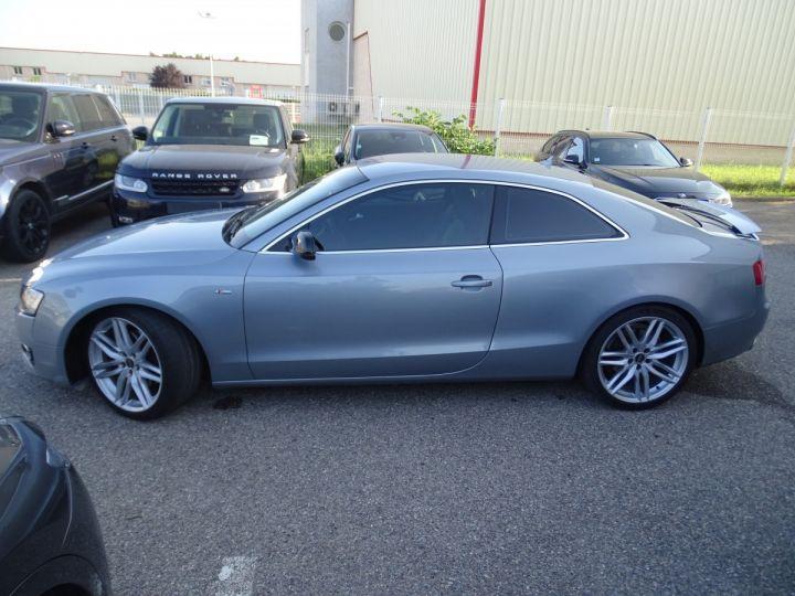 Audi A5 Coupe 3.0 V6 TDI 240 DPF QUATTRO S LINE S TRONIC/Véhicule Français  gris métallisé - 5