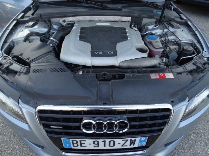 Audi A5 Coupe 3.0 V6 TDI 240 DPF QUATTRO S LINE S TRONIC/Véhicule Français  gris métallisé - 16