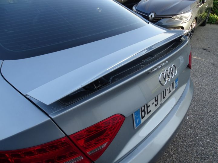 Audi A5 Coupe 3.0 V6 TDI 240 DPF QUATTRO S LINE S TRONIC/Véhicule Français  gris métallisé - 17