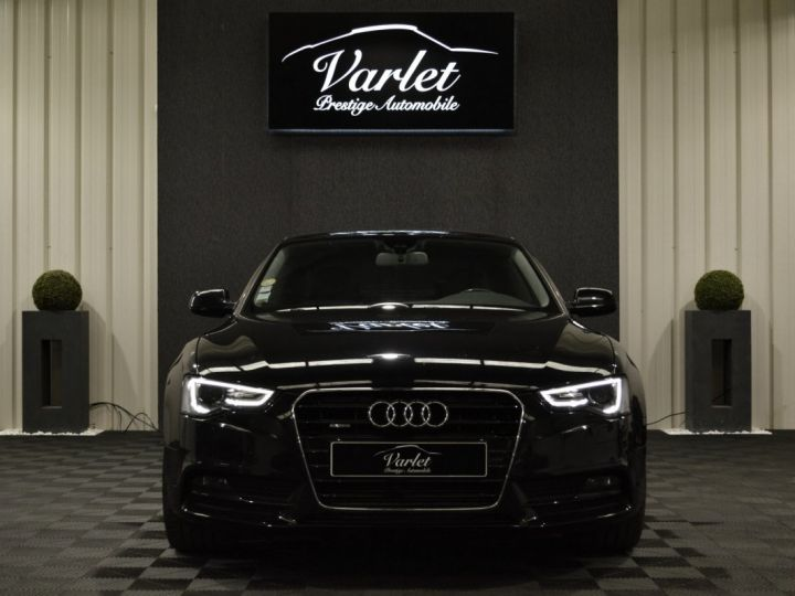 Audi A5 coupe restyle 3.0 v6 tdi 245ch ambition luxe stronic historique complet orig. France NOIR - 2