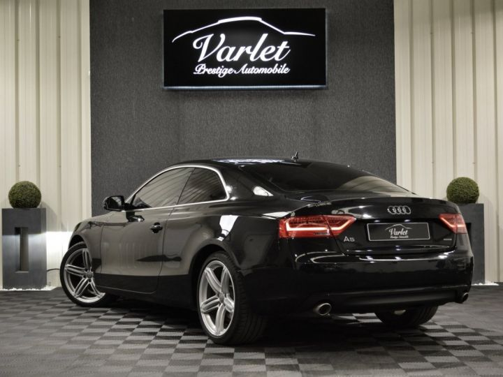 Audi A5 coupe restyle 3.0 v6 tdi 245ch ambition luxe stronic historique complet orig. France NOIR - 6