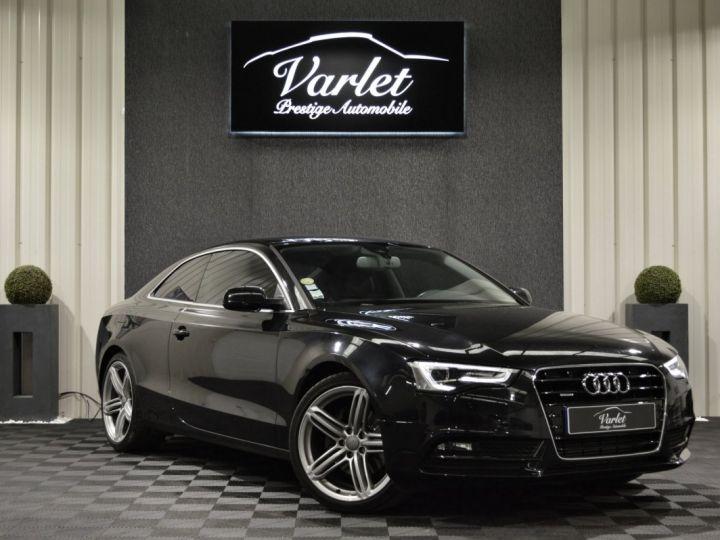 Audi A5 coupe restyle 3.0 v6 tdi 245ch QUATTRO ambition luxe stronic historique complet orig. France NOIR - 1