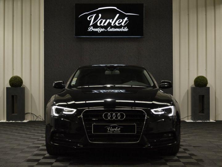 Audi A5 coupe restyle 3.0 v6 tdi 245ch QUATTRO ambition luxe stronic historique complet orig. France NOIR - 2