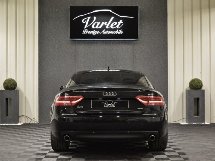 Audi A5 coupe restyle 3.0 v6 tdi 245ch QUATTRO ambition luxe stronic historique complet orig. France NOIR - 5