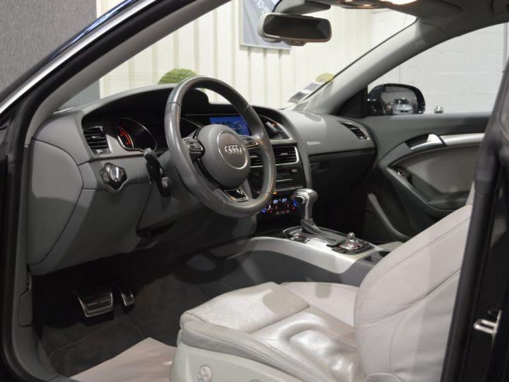 Audi A5 coupe restyle 3.0 v6 tdi 245ch QUATTRO ambition luxe stronic historique complet orig. France NOIR - 7