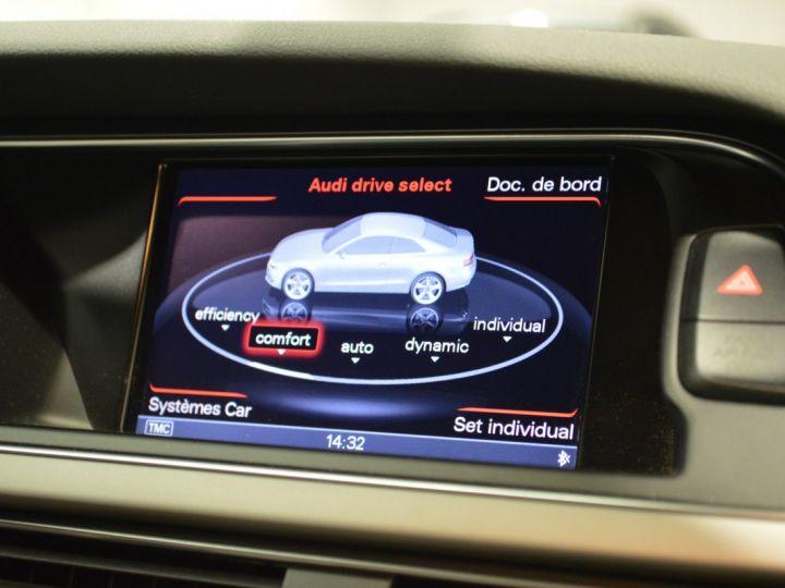Audi A5 coupe restyle 3.0 v6 tdi 245ch QUATTRO ambition luxe stronic historique complet orig. France NOIR - 8