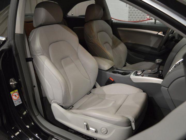 Audi A5 coupe restyle 3.0 v6 tdi 245ch QUATTRO ambition luxe stronic historique complet orig. France NOIR - 12
