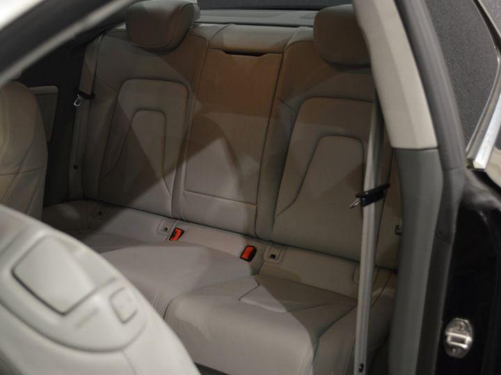 Audi A5 coupe restyle 3.0 v6 tdi 245ch QUATTRO ambition luxe stronic historique complet orig. France NOIR - 13