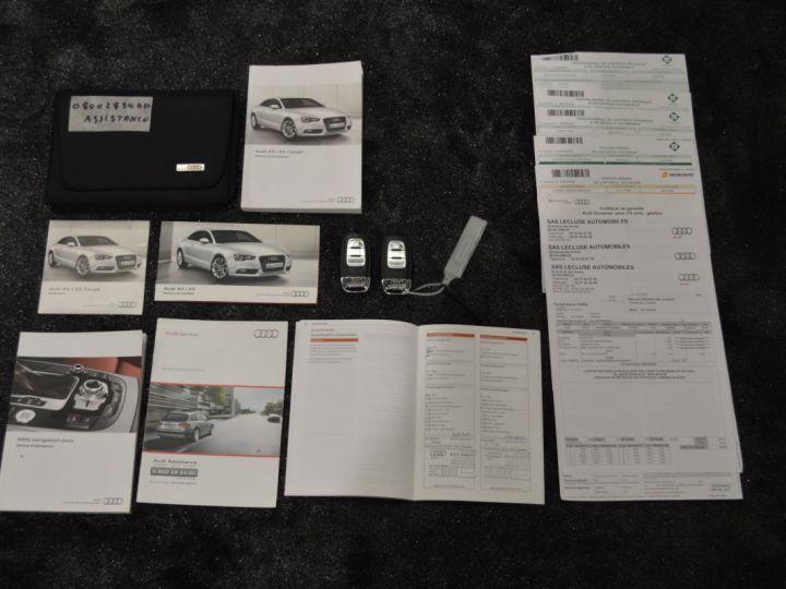 Audi A5 coupe restyle 3.0 v6 tdi 245ch QUATTRO ambition luxe stronic historique complet orig. France NOIR - 21