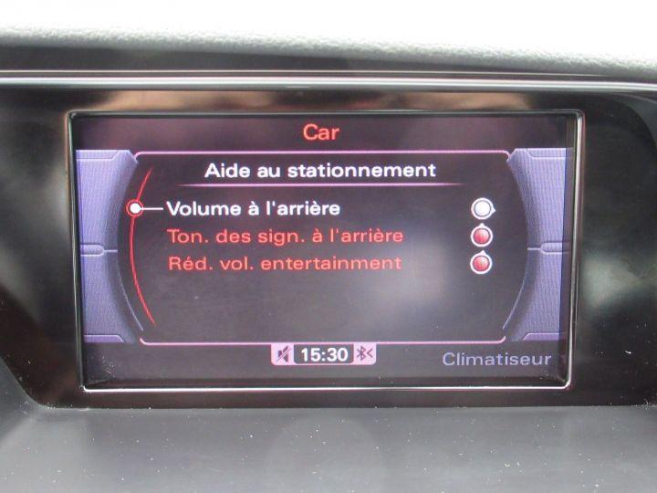 Audi A5 Sportback 1.8 TFSI 170CH S LINE MULTITRONIC EURO6 Gris Clair - 16