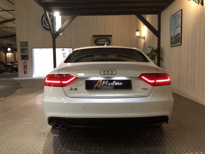 Audi A5 Sportback 2.0 TDI 150 CV SLINE BV6 Blanc - 4