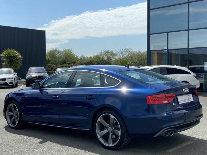 Audi A5 Sportback 2.0 TDI 150ch CLEAN DIESEL S-LINE BVM6 BLEU METAL - 4