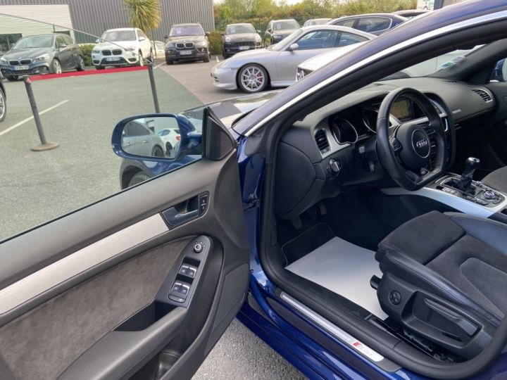 Audi A5 Sportback 2.0 TDI 150ch CLEAN DIESEL S-LINE BVM6 BLEU METAL - 6
