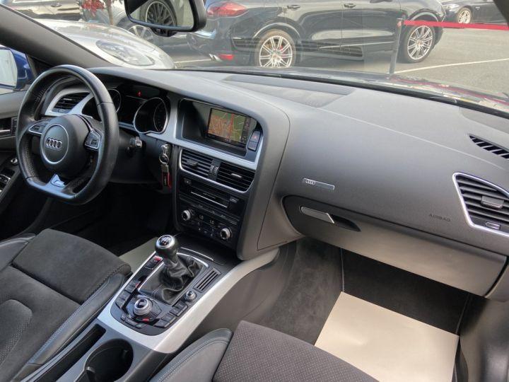 Audi A5 Sportback 2.0 TDI 150ch CLEAN DIESEL S-LINE BVM6 BLEU METAL - 9