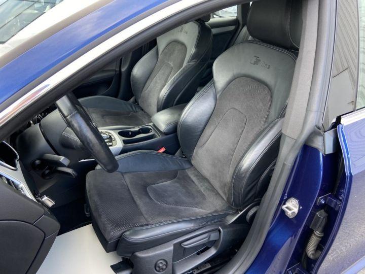 Audi A5 Sportback 2.0 TDI 150ch CLEAN DIESEL S-LINE BVM6 BLEU METAL - 11