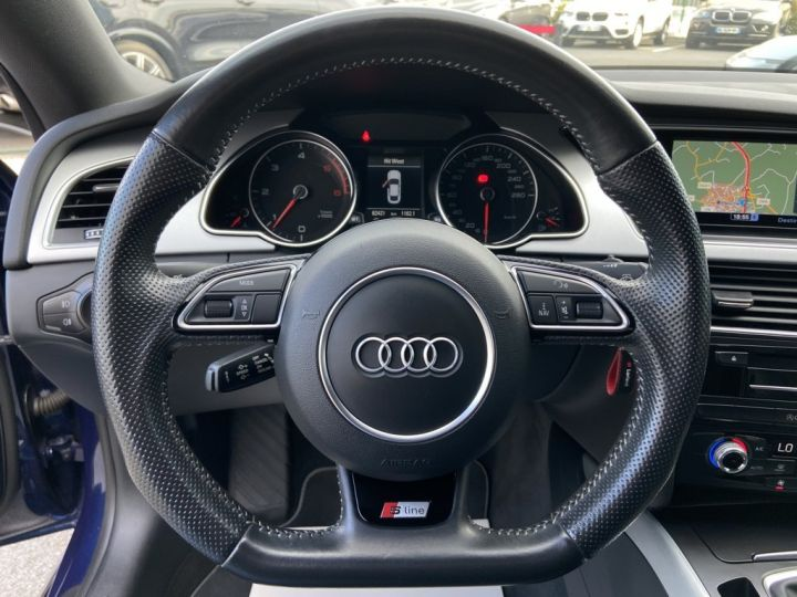 Audi A5 Sportback 2.0 TDI 150ch CLEAN DIESEL S-LINE BVM6 BLEU METAL - 17