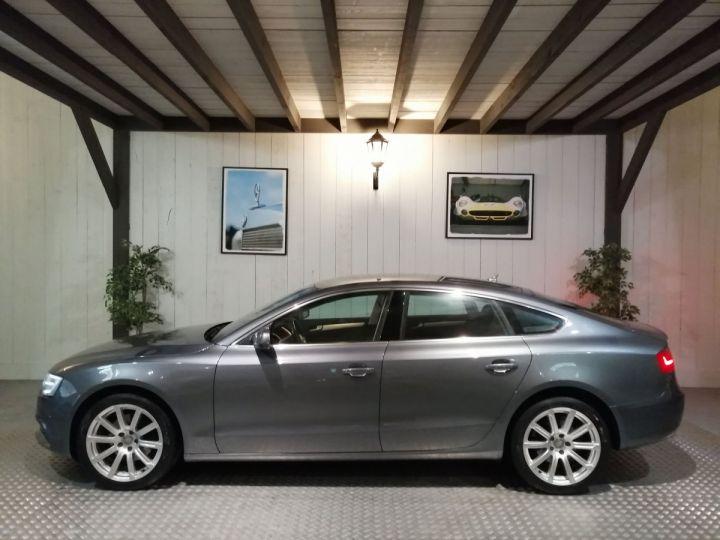 Audi A5 Sportback 2.0 TDI 177 CV  AMBITION LUXE QUATTRO BVA Gris - 1
