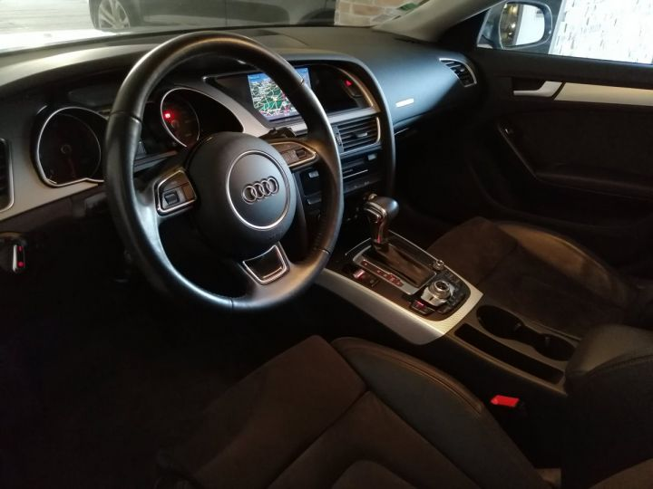Audi A5 Sportback 2.0 TDI 177 CV  AMBITION LUXE QUATTRO BVA Gris - 5