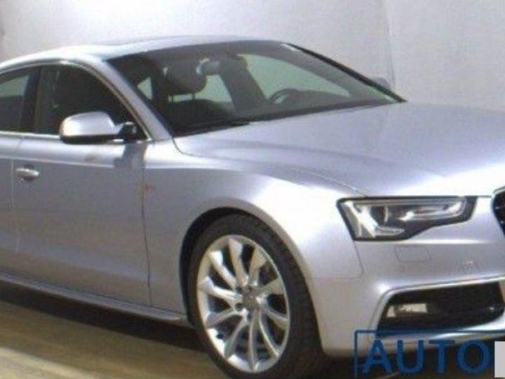 Audi A5 Sportback 2.0 TDI 190 ch Quattro S-Line(2015) Gris métal - 1