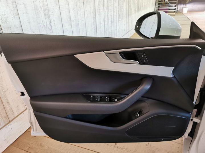 Audi A5 Sportback 2.0 TDI 190 CV SLINE QUATTRO BVA Blanc - 8