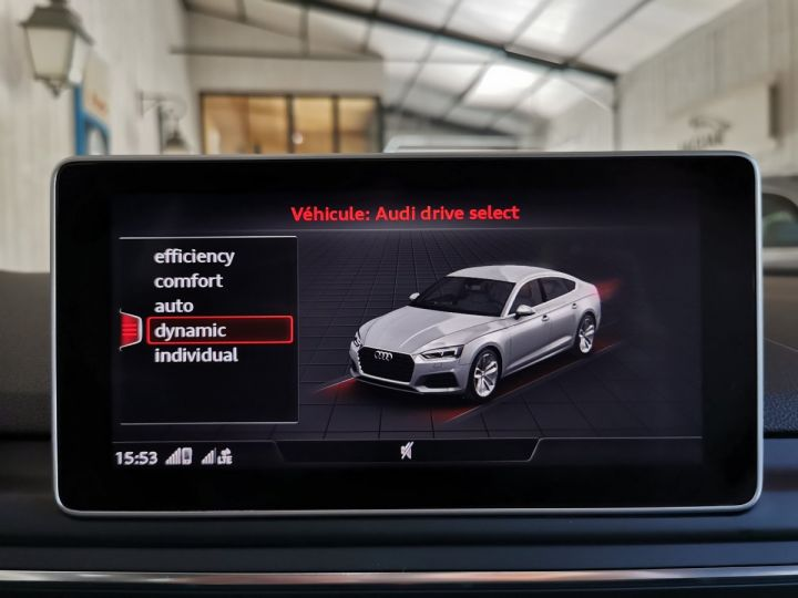 Audi A5 Sportback 2.0 TDI 190 CV SLINE QUATTRO BVA Blanc - 11