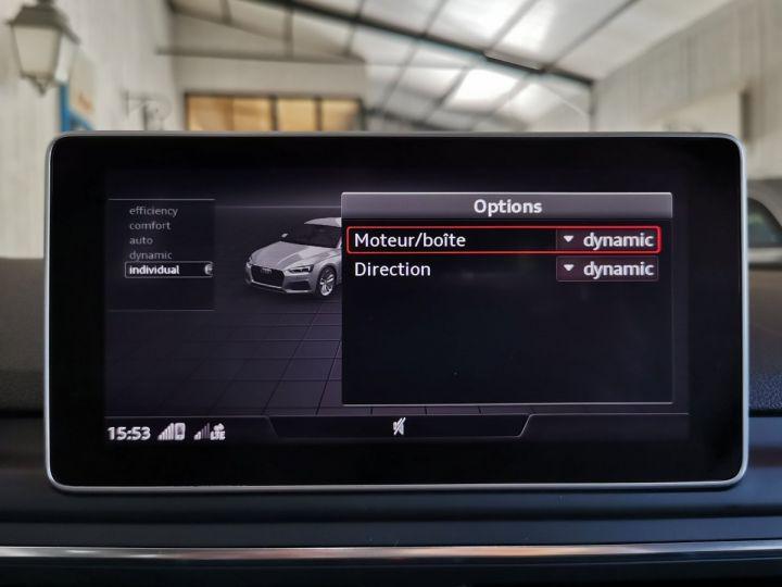Audi A5 Sportback 2.0 TDI 190 CV SLINE QUATTRO BVA Blanc - 12