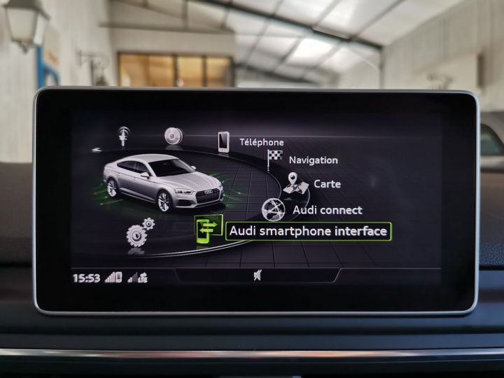 Audi A5 Sportback 2.0 TDI 190 CV SLINE QUATTRO BVA Blanc - 13