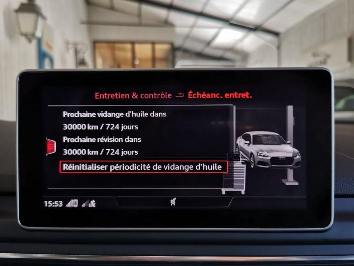 Audi A5 Sportback 2.0 TDI 190 CV SLINE QUATTRO BVA Blanc - 14