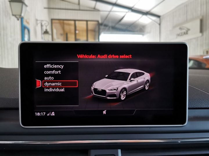 Audi A5 Sportback 2.0 TDI 190 CV SLINE QUATTRO BVA Gris - 10