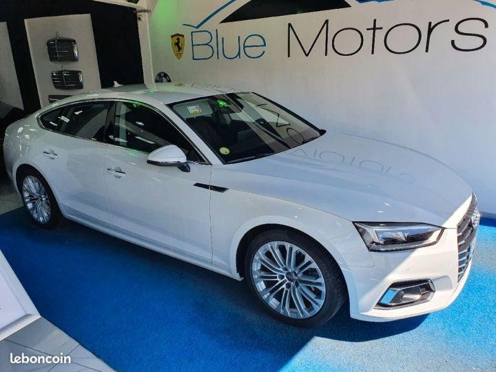 Audi A5 Sportback 2.0 TDI S-Tronic7 Design Luxe Blanc - 1