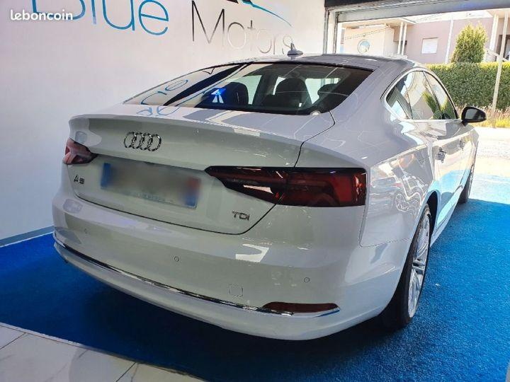 Audi A5 Sportback 2.0 TDI S-Tronic7 Design Luxe Blanc - 2