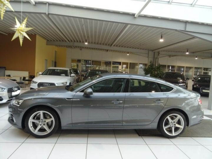 Audi A5 Sportback 2.0 TDI SPORT S TRONIC  GRIS  Occasion - 3