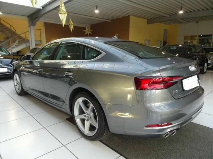 Audi A5 Sportback 2.0 TDI SPORT S TRONIC  GRIS  Occasion - 4