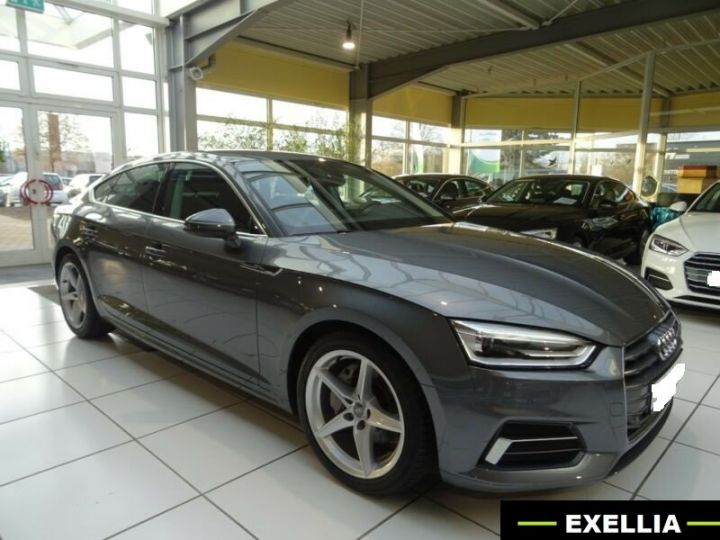 Audi A5 Sportback 2.0 TDI SPORT S TRONIC  GRIS  Occasion - 5
