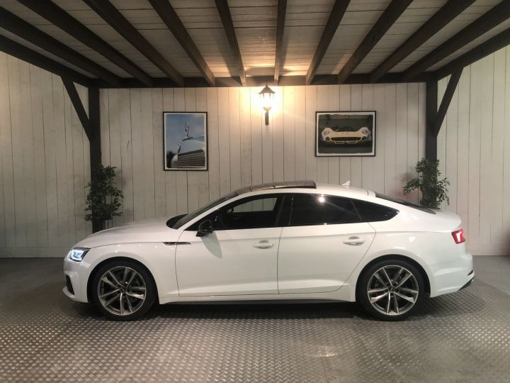Audi A5 Sportback 2.0 TFSI 190 CV SLINE BVA Blanc - 1