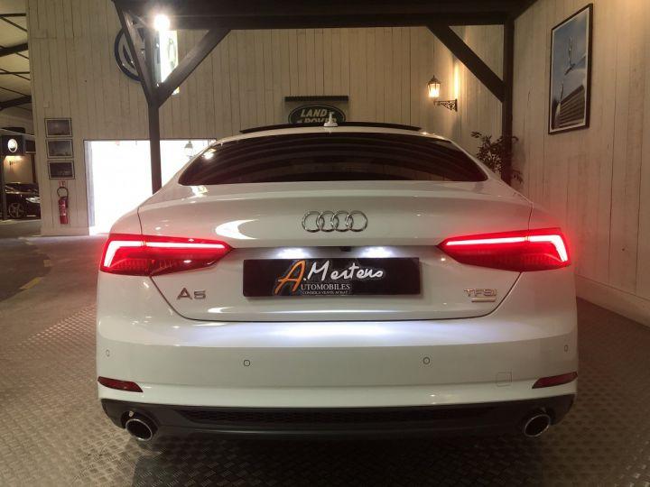 Audi A5 Sportback 2.0 TFSI 190 CV SLINE BVA Blanc - 4