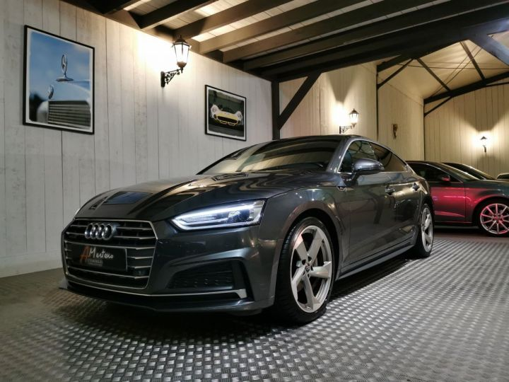 Audi A5 Sportback 3.0 TDI 218 CV SLINE QUATTRO BVA Gris - 2
