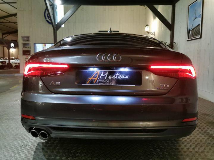Audi A5 Sportback 3.0 TDI 218 CV SLINE QUATTRO BVA Gris - 4