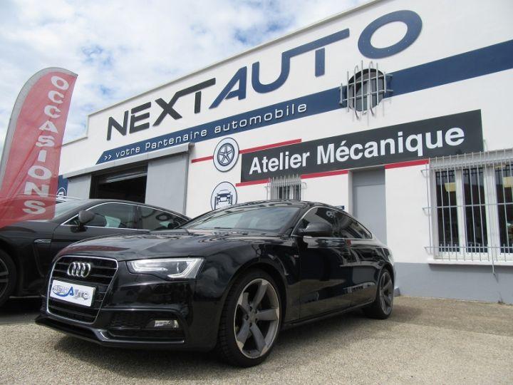 Audi A5 Sportback 3.0 V6 TDI 204CH S LINE MULTITRONIC Noir Occasion - 1