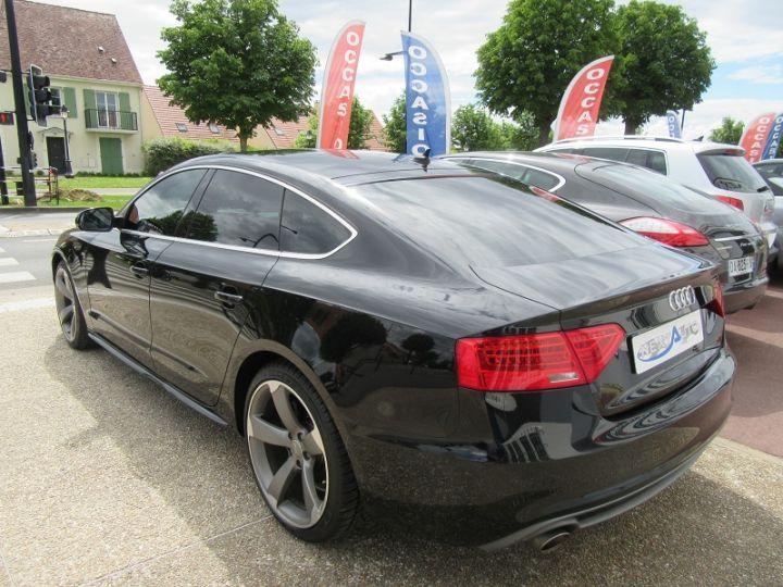 Audi A5 Sportback 3.0 V6 TDI 204CH S LINE MULTITRONIC Noir Occasion - 3