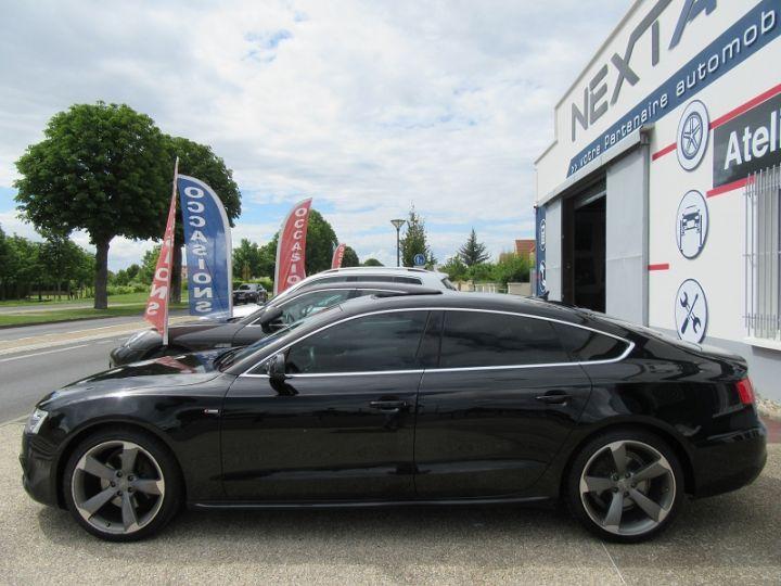 Audi A5 Sportback 3.0 V6 TDI 204CH S LINE MULTITRONIC Noir Occasion - 5