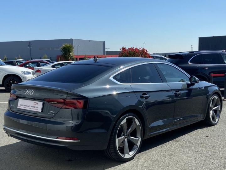Audi A5 Sportback 3.0 V6 TDI 218ch QUATTRO AVUS S-TRONIC 7 GRIS FONCE - 5